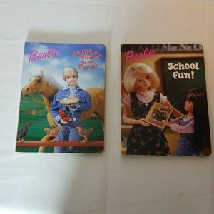 Golden Books Barbie LOT Of 2 Counting